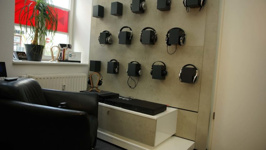 Ausstellung Kopfhörer