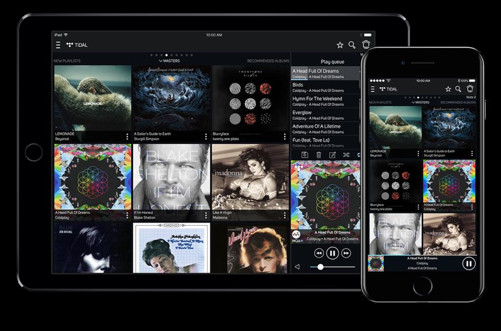 Bluesound Player iOS-Geräte