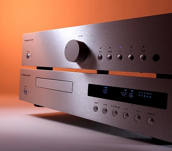 Exposure 1010 AMP und CD silber (Beispielbild)