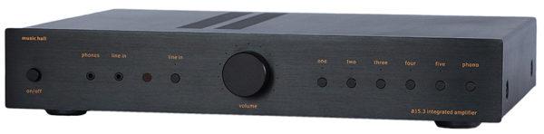 Music Hall A15.3 integrated AMP schwarz (Abbildung ähnlich)