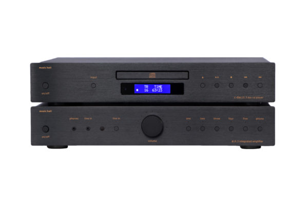 Music Hall A15.3 integrated AMP - Beispielbild mit C-DAC 15.3