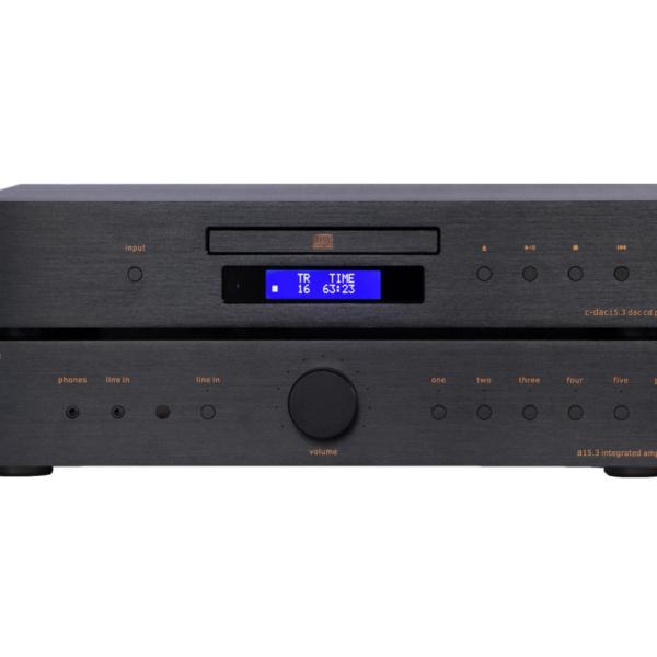 Music Hall A15.3 integrated AMP - Beispielbild mit C-DAC 15.3