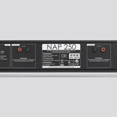 Naim NAP 250 DR Rückseite