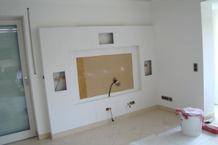 halbhohe wand trockenbau moderne hauptentwurfe. Black Bedroom Furniture Sets. Home Design Ideas