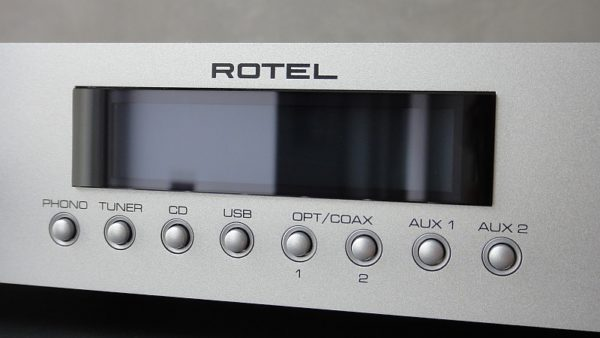 Rotel RA-11 silber