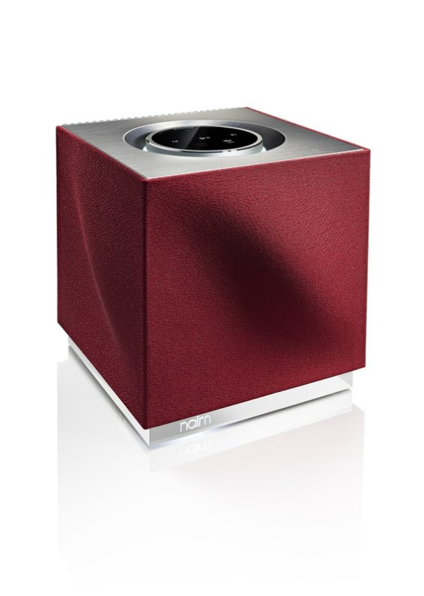 Naim Mu-so Qb in Vibrant Red