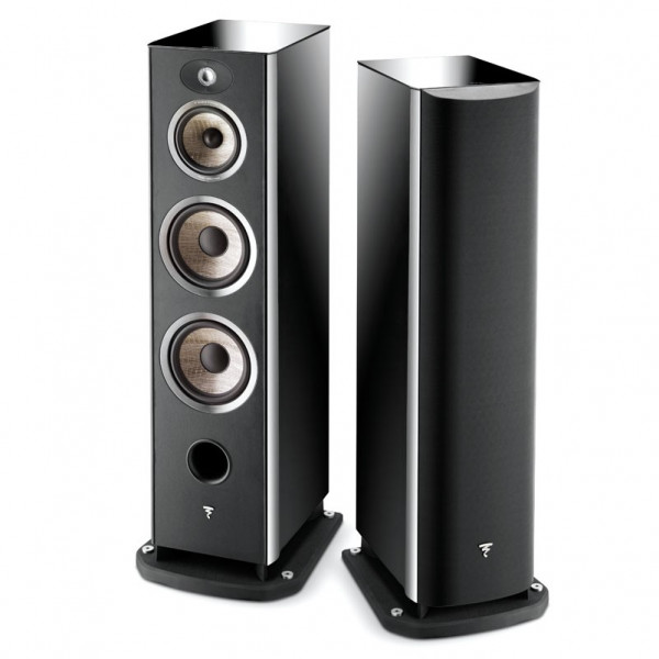 Focal Aria 948 High Black Gloss als Paar