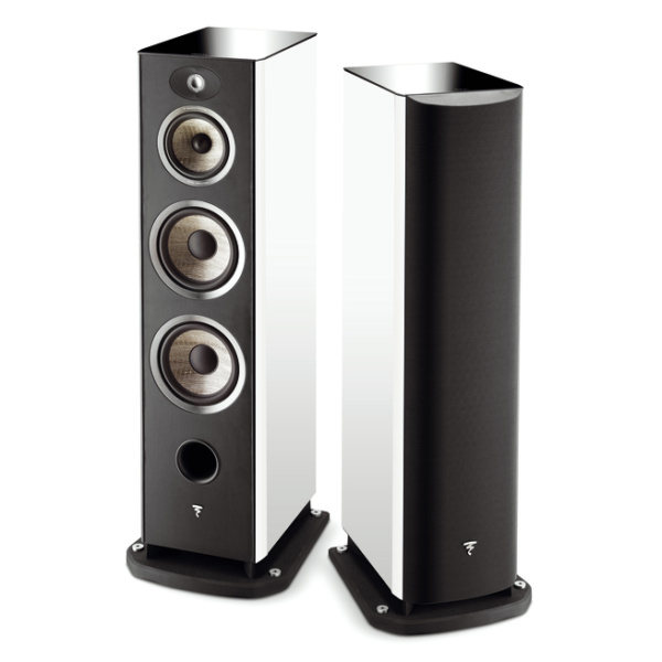 Focal Aria 948 High White Gloss als Paar