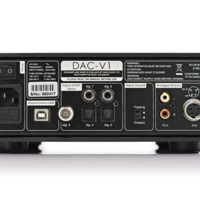 Naim DAC-V1 Rückseite