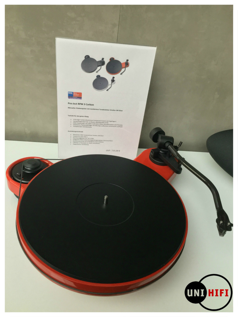 Pro-Ject RPM Carbon rot