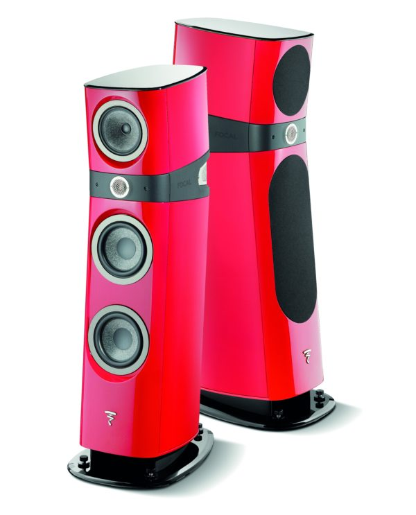 Focal Sopra N°2 Imperial Red als Paar