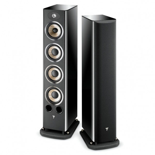 Focal Aria 936 High Black Gloss als Paar