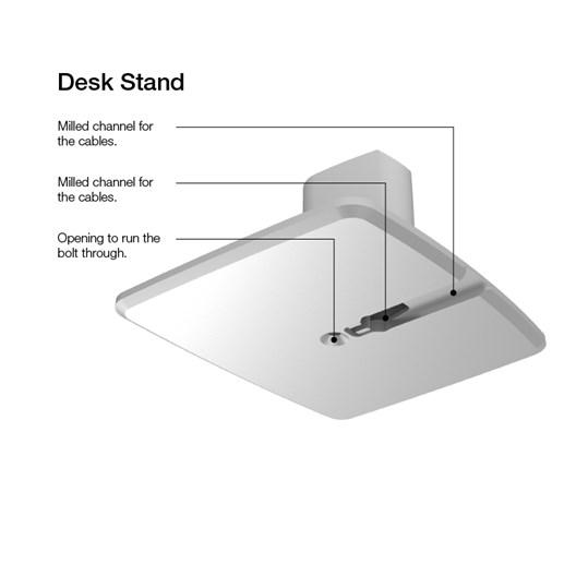 Dynaudio Xeo 2 Desk Stand Aluminium