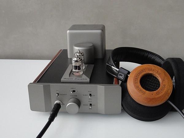 Grado GS1000e kombiniert mit Kopfhörerverstärker
