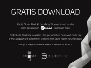 Gratis MQA Download!