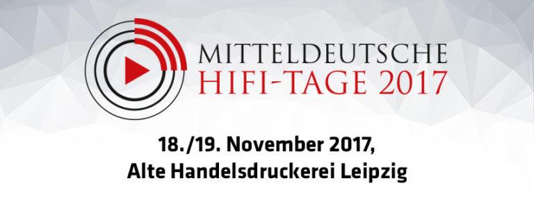 Mitteldeutsche Hifitage 2017 (MDHT 2017)