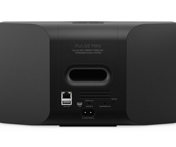 Bluesound Pulse Mini schwarz - Rückseite