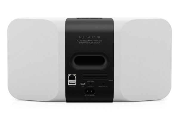 Bluesound Pulse Mini weiß - Rückseite