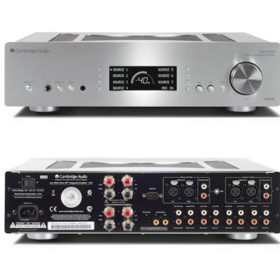 Cambridge Audio Azur 851A XD-Verstärker - silber