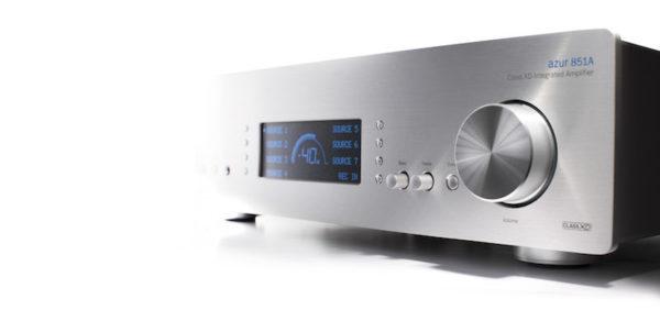 Cambridge Audio Azur 851A XD-Verstärker - silber (Front)