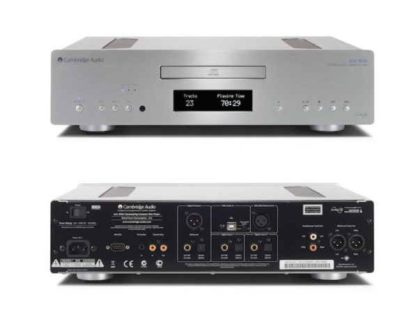 Cambridge Audio Azur 851C Upsampling-DAC , CD-Player & Vorverstärker - silber