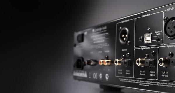 Cambridge Audio Azur 851C Upsampling-DAC , CD-Player & Vorverstärker - schwarz (Anschlüsse)