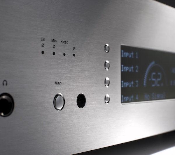 Cambridge Audio Azur 851D D/A-Wandler - silber (Front)