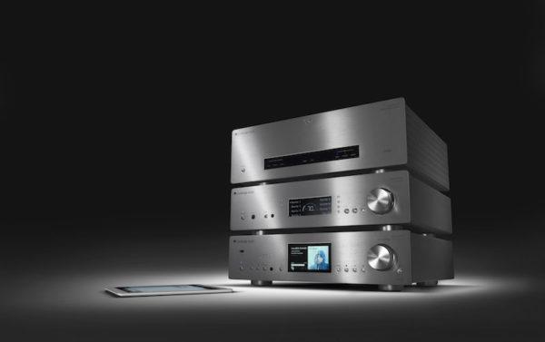 Cambridge Audio Azur 851N Netzwerkplayer, 851E Vorstufe und 851W Endstufe - schwarz (Beispielabbildung)