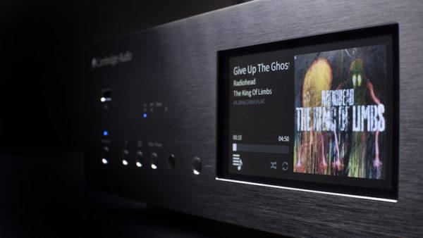 Cambridge Audio Azur 851N Netzwerkplayer - schwarz (Front)