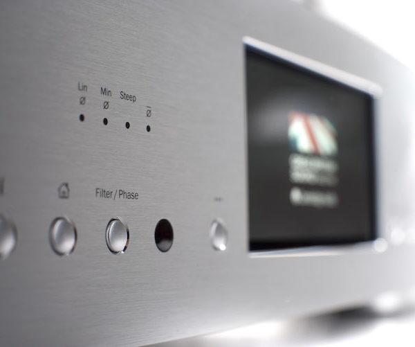 Cambridge Audio Azur 851N Netzwerkplayer - silber (Front)