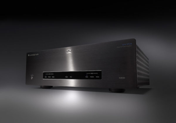 Cambridge Audio Azur 851W Endstufe - schwarz (Front)