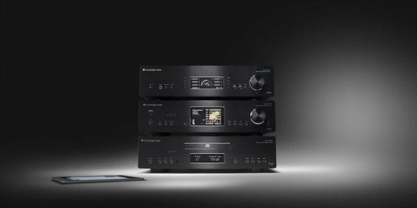 Cambridge Audio Azur 851N Netzwerkplayer, 851C CD-Player/DAC mit 851A XD-Verstärker - schwarz (Beispielabbildung)