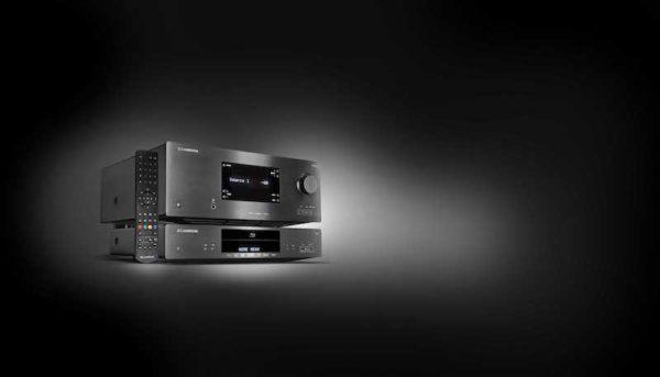 Cambridge Audio CXR200 AV-Receiver mit CXU Blu-ray-player - schwarz (Beispielabbildung)