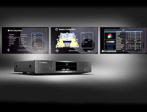 Cambridge Audio CXU Blu-ray-Player - schwarz (Bedienung)