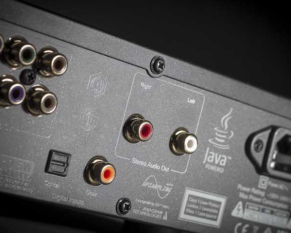 Cambridge Audio CXU Blu-ray-Player - schwarz (Anschlüsse)