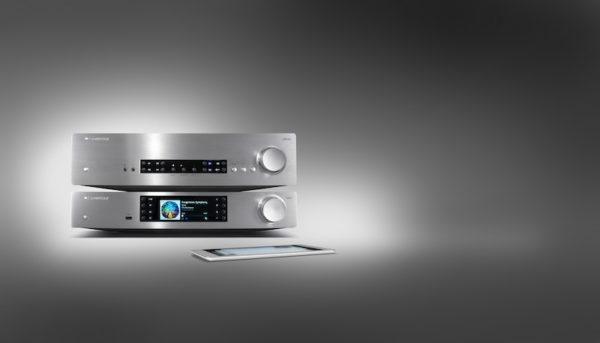 Cambridge Audio CXA80 Verstärker mit CXN Netzwerkplayer - silber (Beispielabbildung)