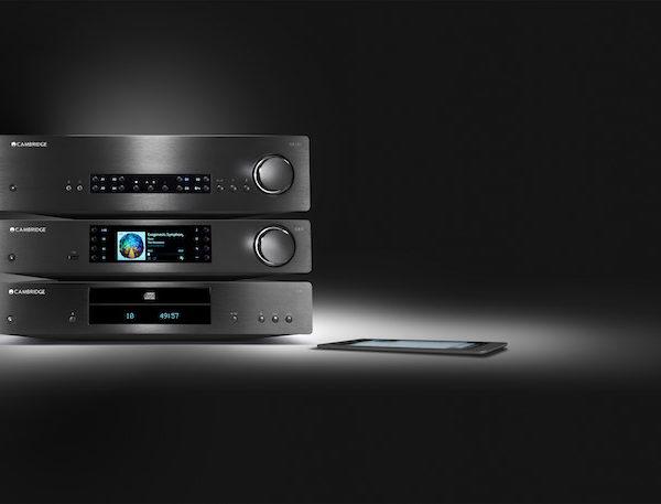 Cambridge Audio CXA80 Verstärker, CXN Netzwerkplayer und CXC CD-Player - schwarz (Beispielabbildung)