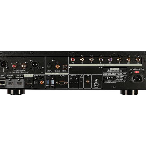 OPPO UDP-205 Blu-ray Player - Anschlüsse