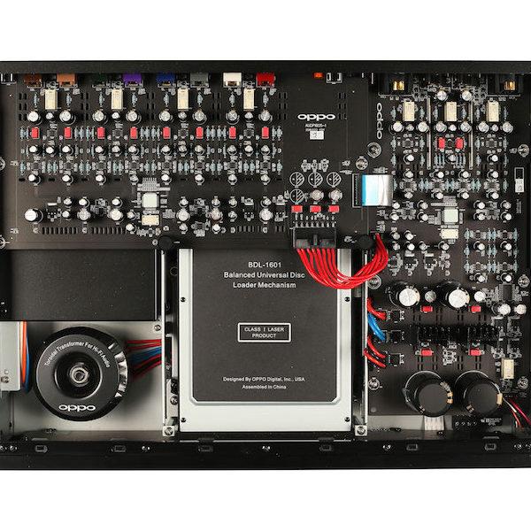 OPPO UDP-205 Blu-ray Player - Innenleben