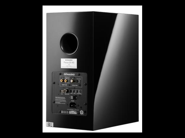 Dynaudio Focus 20 XD - Klavierlack schwarz (Rückseite)
