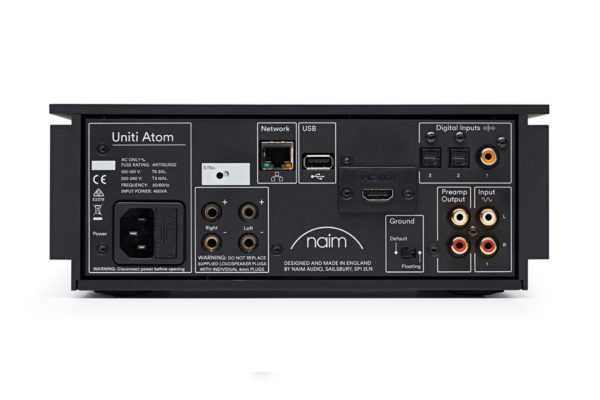 Naim Uniti Atom - All-in-One-Player (Rückseite)