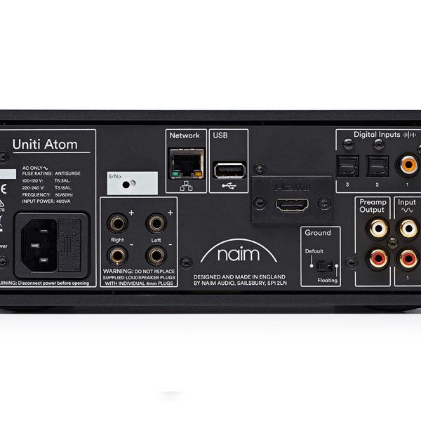 Naim Uniti Atom - All-in-One-Player (Rückseite)