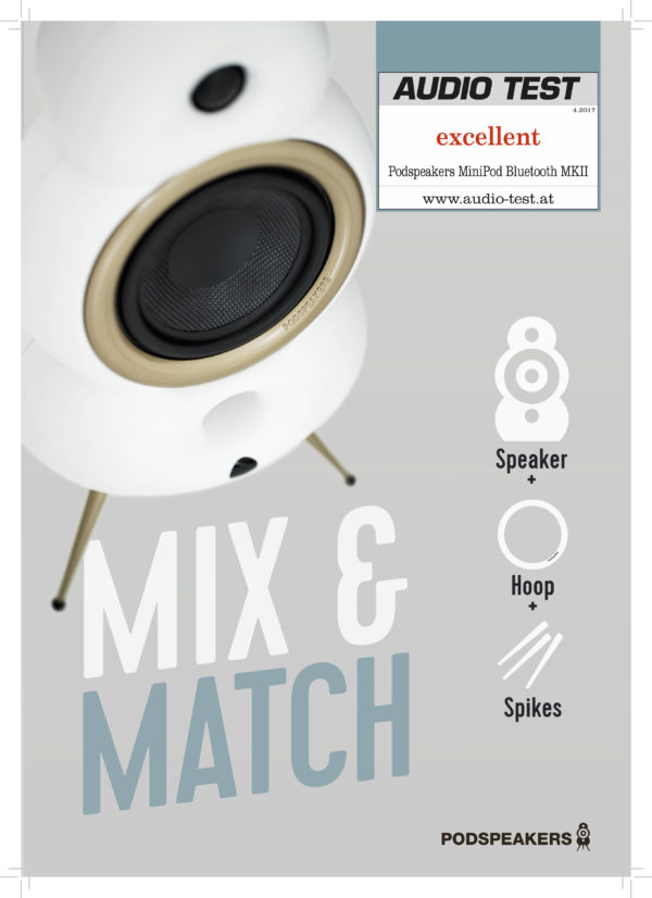 Podspeaker MiniPods - Mix & Match (Audiotest)