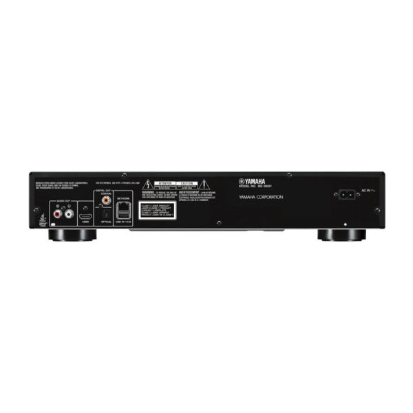 Yamaha BD-S681 (Blu-ray Player) - schwarz (Anschlüsse)