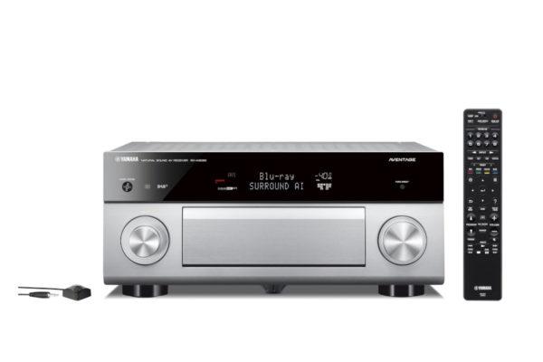 Yamaha MusicCast RX-A2080 - AV-Receiver (titan)