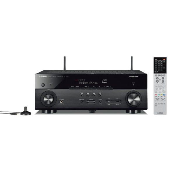Yamaha MusicCast RX-A680 - AV-Receiver (schwarz, mit Antennen)