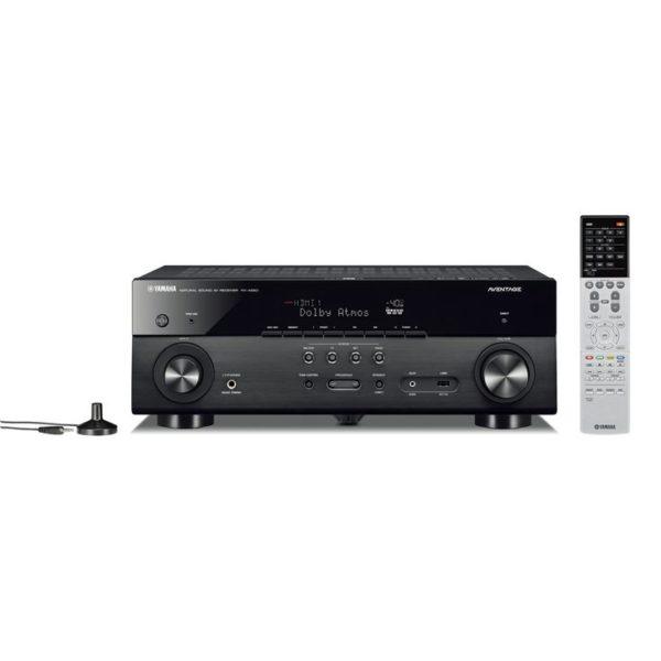 Yamaha MusicCast RX-A680 - AV-Receiver (schwarz)