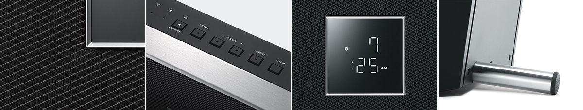 Yamaha Restio ISX-80 (Wireless Lautsprecher, schwarz)