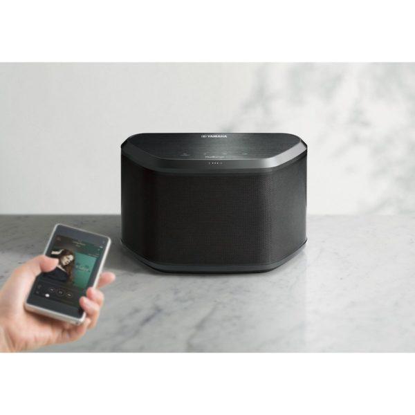 Yamaha WX-030 - Wireless Lautsprecher (schwarz. App-Steuerung)