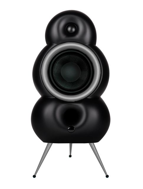 Podspeakers MiniPod BT MKII (matt schwarz & individueller Hoop/Spikes)
